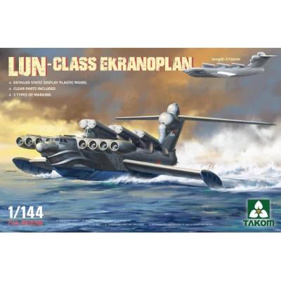 EKRANOPLANO LUN - CLASS -Escala 1/144- Takom 3002