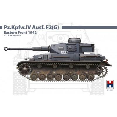 CARRO DE COMBATE Sd.kFZ. 161 PANZER IV Ausf. F2 (G) -Escala 1/72- Hobby 2000 72701