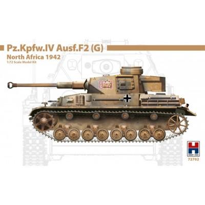 CARRO DE COMBATE Sd.kFZ. 161 PANZER IV Ausf. F2 (G) -Escala 1/72- Hobby 2000 72702