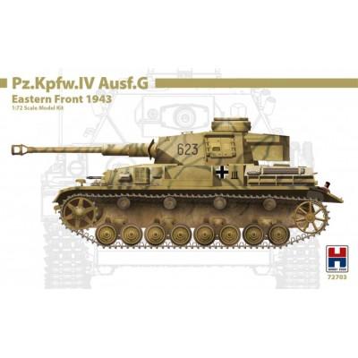 CARRO DE COMBATE Sd.kFZ. 161 PANZER IV Ausf. G -Escala 1/72- Hobby 2000 72703