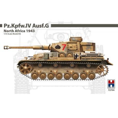 CARRO DE COMBATE Sd.Kfz. 161 PANZER IV Ausf. G -Escala 1/72- Hobby 2000 72704