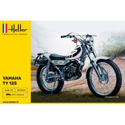 YAMAHA TY125 -Escala 1/8- Heller 80902
