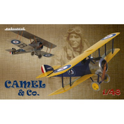 "SOPWHITH F.1 CAMEL ""BIGGLES & Co"" (Dual Combo) -Escala 1/48- Eduard 11151"