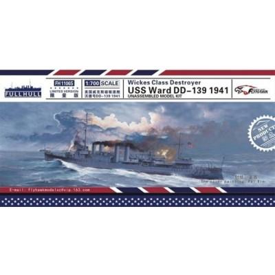 DESTRUCTOR U.S.S WARD DD-139 (Wickes Class) 1941 -Escala 1/700- FlyHawk Models FH1106S