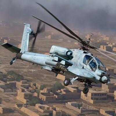 """HUGHES AH-64 A APACHE ANG """"South Carolina"""" -Escala 1/35- Academy 12129"""