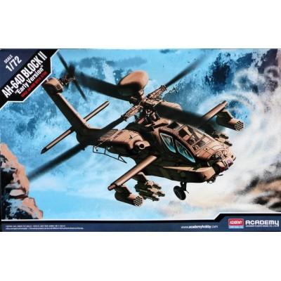 HUGHES AH-64 D APACHE BLOCK II -Escala 1/72- Academy 12514