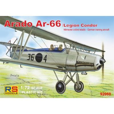ARADO AR-66 (Legion Condor) -Escala 1/72- RS MODELS 92060