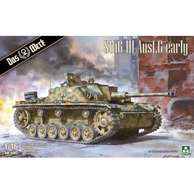 CAÑON DE ASALTO Sd.Kfz. 142 Ausf. G STUG III -Escala 1/16- Das Werk DW16001