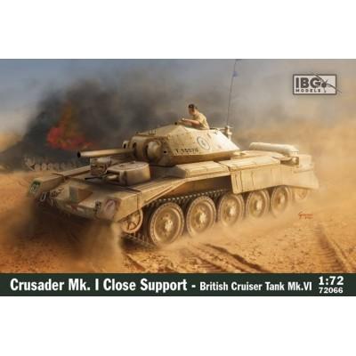 CARRO DE COMBATE CRUSADER MK-I CS -Escala 1/72- IBG 72066