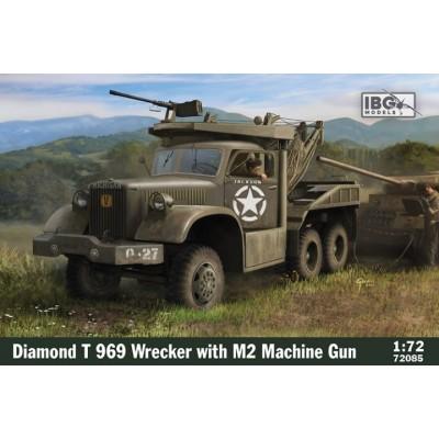 DIAMOND T-969 GRUA & Ametralladora M-2 -Escala 1/72- IGB 72085