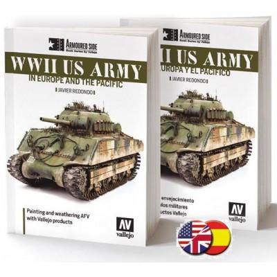 ARMOURED SIDE: WWII US ARMY en Europa y el Pacífico (Castellano) -Acrylicos Vallejo 75023
