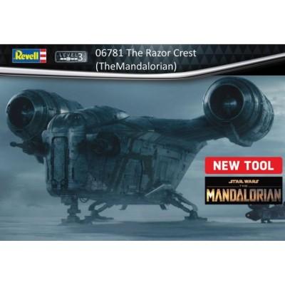 Star Wars: THE RAZOR CREST (Mandalorian) -Escala 1/72- Revell 06781