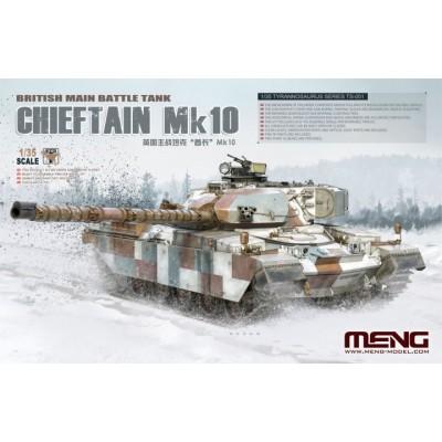 CARRO DE COMBATE CHIEFTAIN MK.10 -Escala 1/35- Meng TS-051