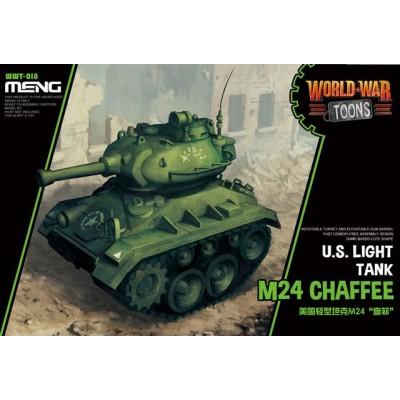 CARRO DE COMBATE M-24 CHAFFE -TOONS- Meng Model WWT-018