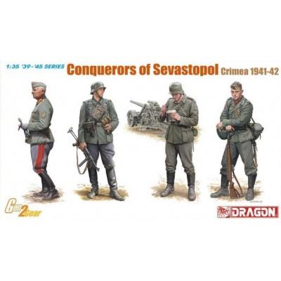 CONQUISTADORES DE SEVASTOPOL - CRIMEA 1941-1942 -Escala 1/35- Dragon Models 6702