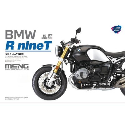 BMW R nine-T Prepintada - Escala 1/9- Meng Models MT-003S