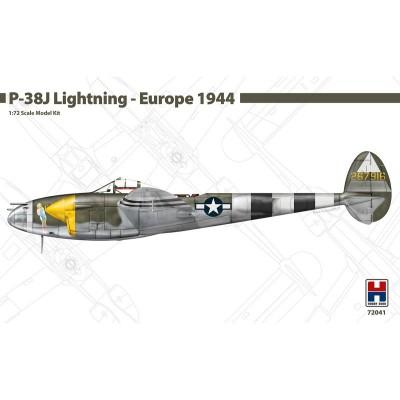 LOCKHEED P-38 J LIGHTNING (EUROPE 1944) -Escala 1/72- Hobby 2000 K72041