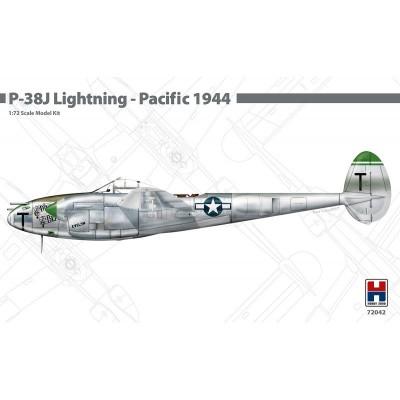 LOCKHEED P-38 J LIGHTNING (PACIFIC 1944) -Escala 1/72- Hobby 2000 K72042