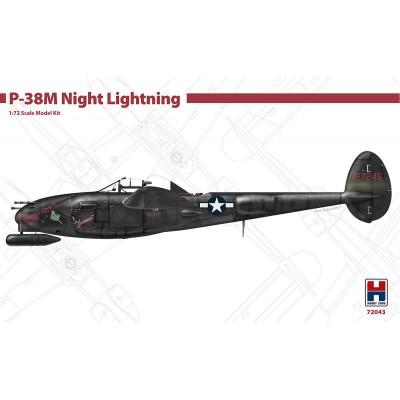 LOCKHEED P-38 N Night LIGHTNING -Escala 1/72- Hobby 2000 K72043