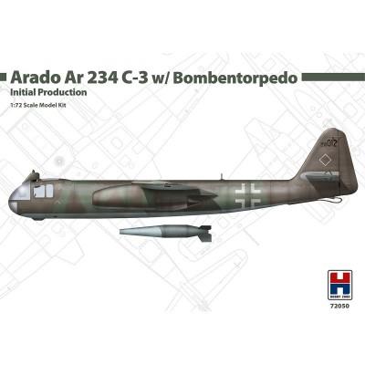 ARADO AR-234 C-3 TORPEDO EARLY -Escala 1/72- Hobby 2000 K72050
