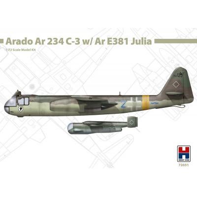 ARADO AR-234 C-3 & ARADO AR-E391 JULIA -Escala 1/72- Hobby 2000 K72051
