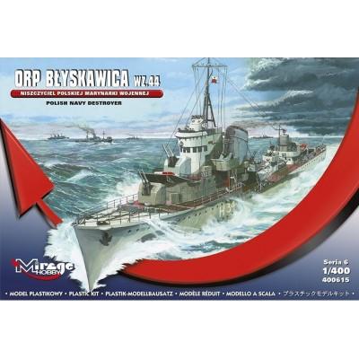 DESTRUCTOR ORP BLYSKAWICA Wz.44 -Escala 1/400- Mirage Hobby 400615