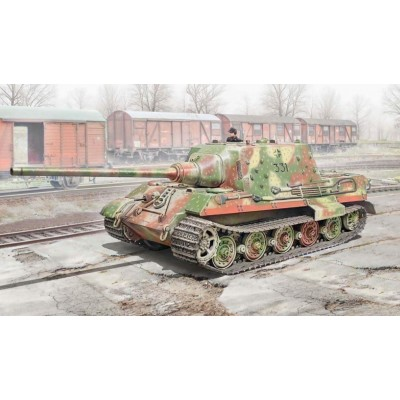 CAZACARROS Sd.Kfz.186 JAGDTIGER -Escala 1/56- Italeri 15770