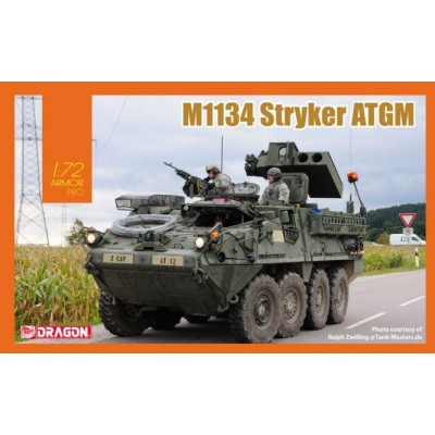 VEHICULO BLINDADO M-1134 STRYKER ATGM -Escala 1/72- Dragon Models 7685
