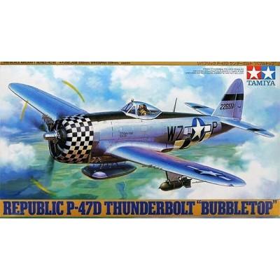 REPUBLIC P-47D THUNDERBOLT -Escala 1/48- Tamiya 61090