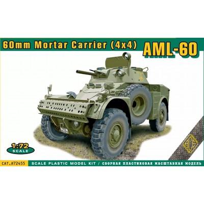 VEHICULO BLINDADO PANHARD AML-60 (España) -Escala 1/72- ACE Model 72455