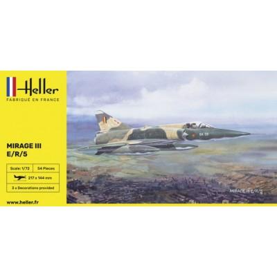 DASSAULT MIRAGE III E/R/5 (España) -Escala 1/72- Heller 80323
