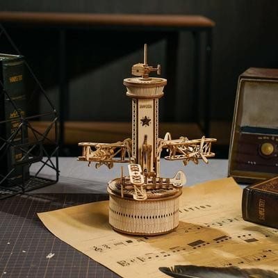 AIRPLANE-CONTROL TOWER - ROBOTIME AMK41