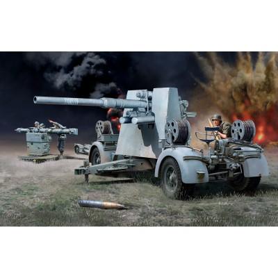 CAÑON FLAK 37 (88 mm) & Sd.Anh. 202 -Escala 172- Revell