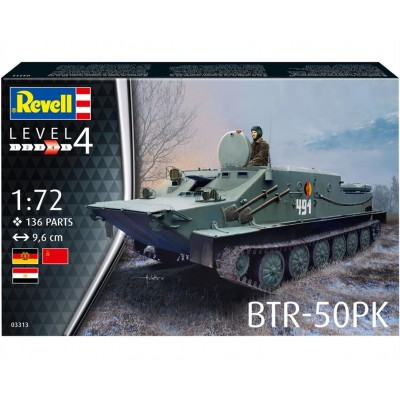 TRANSPORTE BLINDADO BTR-50PK - ESCALA 1/72 - REVELL 03313