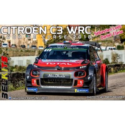 CITROEN C3 WRC (Tour de Corse 2018) -Escala 1/24- Belkits 017