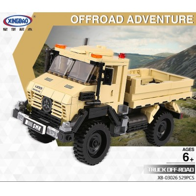 CAMION OFFROAD ADVENTURE - XINGBAO XB03026