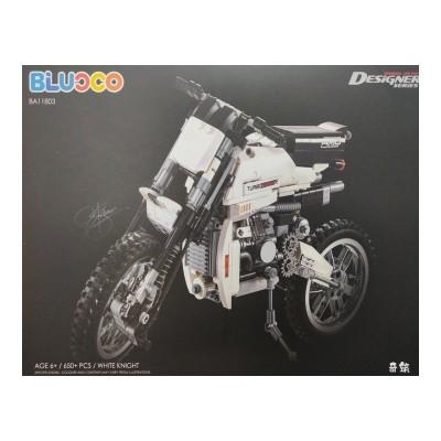 MOTOCICLETA WHITE KNIGHT - Blucco BA11803