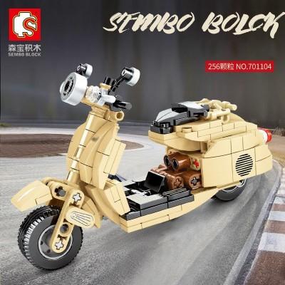MOTO TIPO VESPA - SEMBO BLOCK 701104