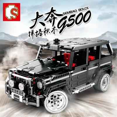 COCHE SUV BANZ G500 - SEMBO BLOCK 701960