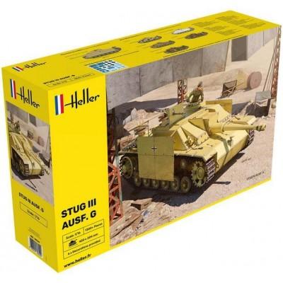 CAÑON DE ASALTO Sd.Kfz. 142 Ausf. G STUG III -Escala 1/16- Heller 30320