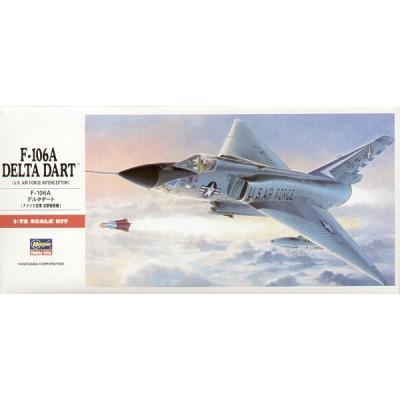 CONVAIR F-106 A DELTA DART - escala 1/72 - hasegawa C11