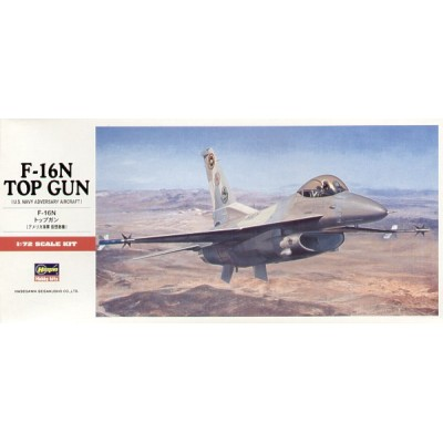 GENERAL DYNAMICS F-16 N FIGHTING FALCON (Top Gun) -1/72- Hasegawa C12