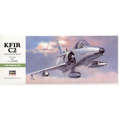 IAI KFIR C-2 - escala 1/72 - hasegawa B7