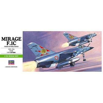 DASSAULT MIRAGE F.1 C - escala 1/72 - hasegawa B4