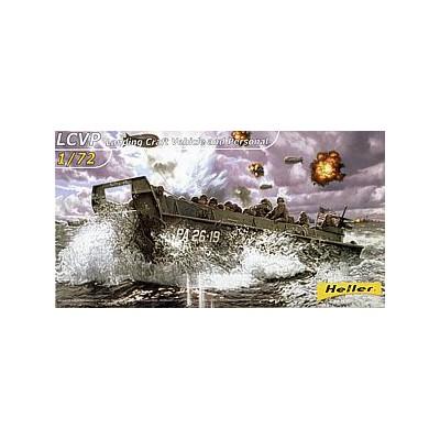 LANCHA DE DESEMBARCO INFANTERIA LCVP -Escala 1/72- Heller 79995