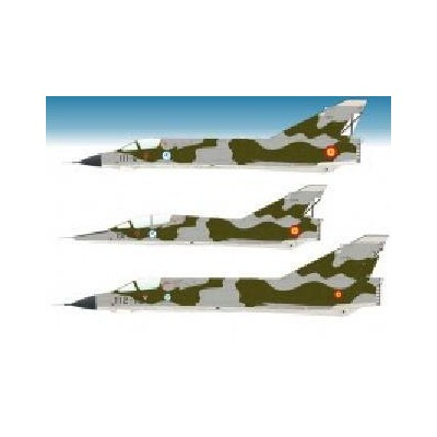 CALCAS MIRAGE III (MANISES) 1/72 - Series Españolas SE472