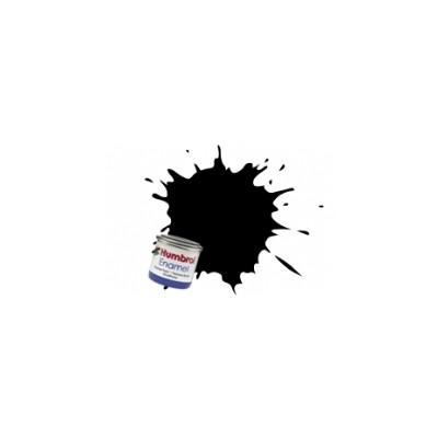 PINTURA ESMALTE NEGRO SATINADO - Negro Carbon (14 ml)