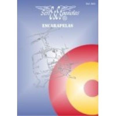 CALCAS ESCARAPELAS ESPAÑOLAS (Distintos tamaños) - Series Españolas SE0