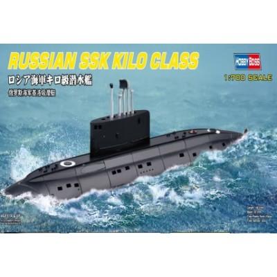 SUBMARINO CLASE KILO -Escala 1/700- Hobby boss 87003