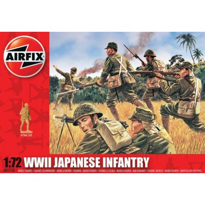 INFANTERIA JAPONESA 2ª G.M. (48 piezas) 1/72
